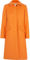 Paul & Joe Bonnie Wool-blend Coat - Orange