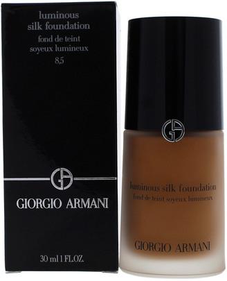 Giorgio Armani 1Oz Luminous Silk Foundation #8.5 Tan Warm