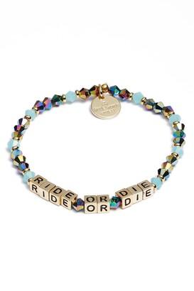 Little Words Project Ride or Die Stretch Bracelet
