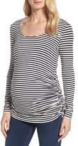 Isabella Oliver Women's Arlington Stripe Maternity Tee