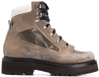 Brunello Cucinelli Chunky Hiking Boots