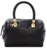 Cole Haan Benson Small Leather Barrel Satchel