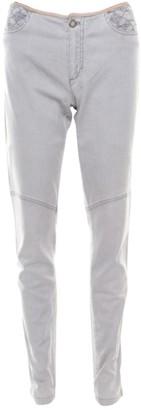 Louis Vuitton Grey Cotton - elasthane Jeans for Women