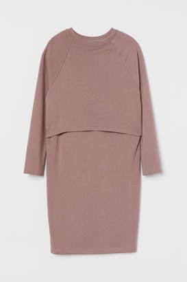 H&M MAMA Maternity/Nursing Dress - Pink