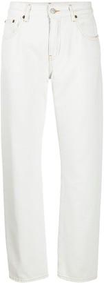 MM6 MAISON MARGIELA Wide-Leg Cropped Jeans