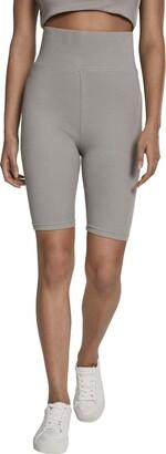 Urban Classics Women's Ladies Radler-Hose High Waist Cycle Shorts