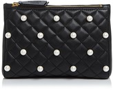 Moschino Faux-Pearl Clutch
