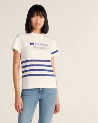 Le Mont St Michel M. Comme Marin Short Sleeve Tee