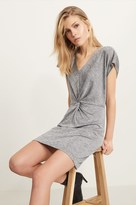 Dynamite Knot Front Dress with Back Cutout