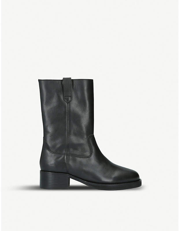 Kurt Geiger Terry leather boots