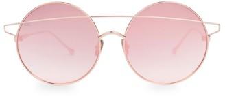 For Art's Sake Mykonos 60MM Round Bar Aviator Sunglasses