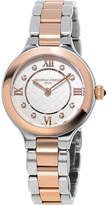 Frederique Constant FC200WHD1ER32B rose gold, stainless steel and diamond watch