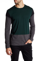 Kenneth Cole New York Long Sleeve Colorblock Shirt