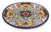 Talavera ceramic under plate, 'Guanajuato Flora'