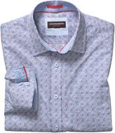 Johnston & Murphy Gaelic Scroll Print Shirt