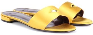 Bougeotte Satin slides