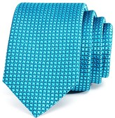 Michael Kors Boys' Windowpane Two Tone Silk Tie