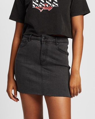 All About Eve Women's Black Jeans - Isabella Mini Skirt - Size One Size, 14 at The Iconic