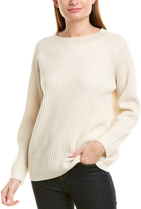 Theory Oversized Cashmere Pullover