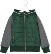 Moncler contrast panel hoodie