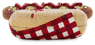 Judith Leiber Hot Dog Crystal Clutch