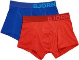 Bjorn Borg Men's 2-Pack Seasonal Solid Trunk