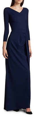 Chiara Boni Litonya Jersey Gown