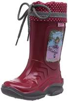 Prinzessin Lillifee Girls 130078 Unlined Rubber Boots Half Shaft Boots & Bootees Red Rot (Rot) Size: 10