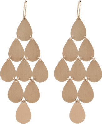 Irene Neuwirth Jewelry Nine-Drop Chandelier Earrings