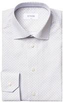 Eton Micro-Print Cotton Dress Shirt