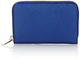 Valextra Men's Zip-Around Card Case-BLUE
