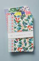 Anthropologie Sisters Gulassa Set of 3 Notebooks