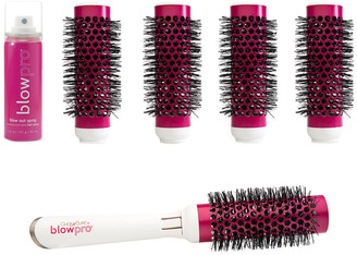 Blowpro Hair Care 8-Piece Click-N-Curl Interchangeable Brush Set (Small)