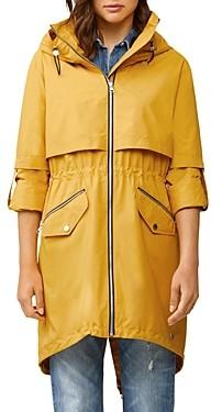 Soia & Kyo Desiree Zip-Up Hooded Raincoat