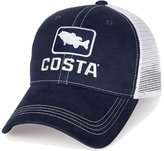 Costa del Mar Bass Trucker XL Hat - Navy / White