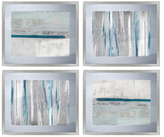 PTM Images Silver Transitionals (Framed Giclee) (Set of 4)