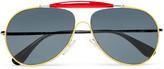 Prada Aviator-Style Metal and Acetate Sunglasses