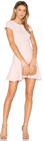 Amanda Uprichard Hudson Dress in Pink. - size L (also in M,S,XS)