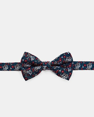 Ted Baker Mini Floral Silk Bow Tie