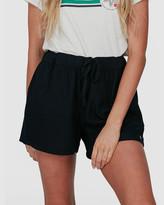 Roxy Womens Love Square Linen Beach Shorts