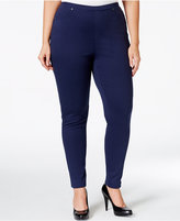 Style&Co. Style & Co Plus Size Pull-On Twill Leggings, Only at Macy's