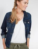 Fat Face Tasha Dark Denim Jacket