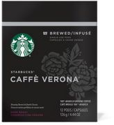 Starbucks VerismoTM 12-Count Caffe Verona® Brewed Coffee Pods