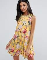 Girls On Film Floral Shift Dress