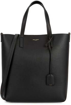 Saint Laurent Toy black leather tote