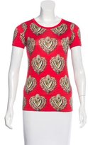 Dolce & Gabbana Crown Heart Graphic Top