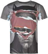 Character Mens T Shirt Stripe Casual Cotton Short Sleeve Crew Neck Tee