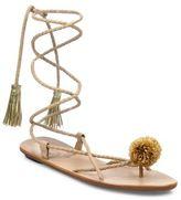 Loeffler Randall Bo Leather Wrap Sandals