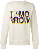 Stella McCartney Tomorrow print sweatshirt - men - Cotton - S