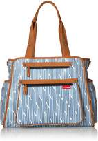 Skip Hop Grand Central Take-It-All Diaper Bag, Blueprint Stripe